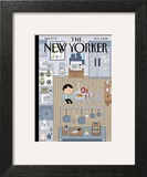 The New Yorker Cover - November 2, 2015 Posters by Ivan Brunetti