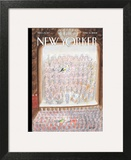 The New Yorker Cover - April 14, 2008 Wall Art by Jean-Jacques Sempé