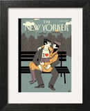 The New Yorker Cover - April 1, 2013 Poster by Luci Gutiérrez