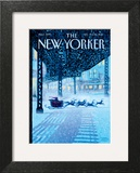 Apparition - The New Yorker Cover, December 19, 2011 Prints by Eric Drooker