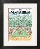 The New Yorker Cover - July 2, 2012 Art Print by Edward Koren