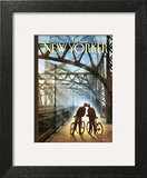 The New Yorker Cover - July 28, 2014 Wall Art by Eric Drooker