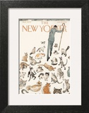 The New Yorker Cover - January 21, 2013 Art Print by Barry Blitt
