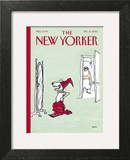 The New Yorker Cover - December 15, 2003 Art Print by George Booth