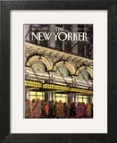 The New Yorker Cover - January 18, 1988 Wall Art by Roxie Munro