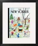 The New Yorker Cover - March 18, 2013 Art Print by Maira Kalman