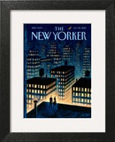 Twilight - The New Yorker Cover, October 25, 2010 Wall Art by Eric Drooker