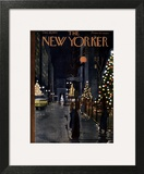 The New Yorker Cover - December 10, 1955 Art by  Alain