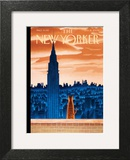 The New Yorker Cover - January 12, 2009 Art Print by Mark Ulriksen