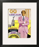 GQ Cover - March 1974 Wall Art by Richard Amsel