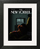 Moment of Joy - The New Yorker Cover, July 8, 2013 Wall Art by Jack Hunter