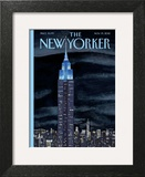 The New Yorker Cover - November 19, 2012 Art Print by Mark Ulriksen