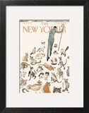 The New Yorker Cover - January 21, 2013 Wall Art by Barry Blitt