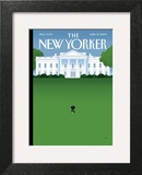The New Yorker Cover - April 27, 2009 Art Print by Bob Staake