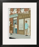 The New Yorker Cover - June 9, 2008 Art Print by Adrian Tomine