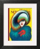 The New Yorker Cover - January 14, 2013 Wall Art by Lorenzo Mattotti