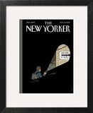 The New Yorker Cover - November 12, 2012 Art Print by Adrian Tomine