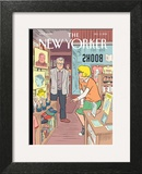 Black Friday - The New Yorker Cover, December 5, 2011 Posters by Dan Clowes