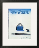 The New Yorker Cover - January 25, 1988 Prints by Eugène Mihaesco