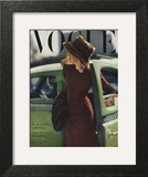 Vogue Cover - September 1945 - On the Town Prints by Constantin Joffé