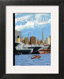 Ghost Ships - The New Yorker Cover, September 20, 2004 Print by Bruce McCall