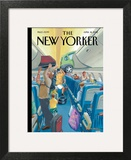 The New Yorker Cover - April 16, 2012 Wall Art by Bruce McCall