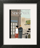 Crossroads - The New Yorker Cover, September 16, 2013 Poster by Adrian Tomine