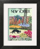 The New Yorker Cover - June 18, 1960 Art Print by William Steig