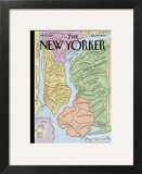 "The New Yorker Cover, ""New Yorkistan"" - December 10, 2001 Art Print by Maira Kalman & Rick Meyerowitz"