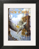 The New Yorker Cover - May 25, 1998 Art Print by Peter de Sève