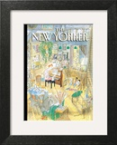 The New Yorker Cover - December 4, 2006 Wall Art by Jean-Jacques Sempé