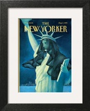 The New Yorker Cover - August 2, 1999 Art by Ana Juan