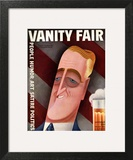 Vanity Fair Cover - September 1932 Wall Art by Miguel Covarrubias