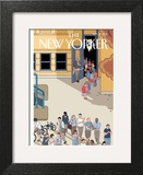 The New Yorker Cover - September 17, 2012 Wall Art by Chris Ware