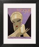 Vogue Cover - April 1927 Wall Art by Eduardo Garcia Benito