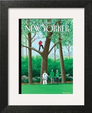 My Best Shot - The New Yorker Cover, April 11, 2011 Prints by Bruce McCall