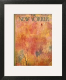 The New Yorker Cover - October 12, 1957 Art Print by Roger Duvoisin
