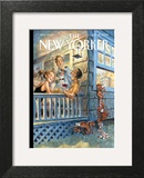 The New Yorker Cover - July 28, 2008 Art Print by Peter de Sève