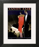 Vanity Fair Cover - July 1927 Art Print by William Bolin
