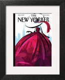 City Flair - The New Yorker Cover, May 6, 2013 Art Print by Birgit Schössow