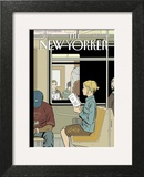 The New Yorker Cover - November 8, 2004 Wall Art by Adrian Tomine