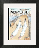 Wedding Season - The New Yorker Cover, July 25, 2011 Wall Art by Barry Blitt