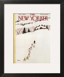 The New Yorker Cover - January 27, 1962 Wall Art by Susanne Suba