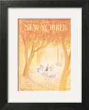 The New Yorker Cover - October 20, 1980 Wall Art by Jean-Jacques Sempé