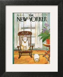 The New Yorker Cover - March 12, 1979 Art Print by George Booth