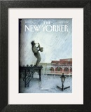 The New Yorker Cover - September 12, 2005 Art Print by Ana Juan