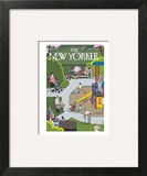 The New Yorker Cover - May 7, 2012 Wall Art by Chris Ware