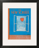 The New Yorker Cover - February 14, 1970 Art Print by Pierre LeTan