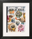 Baby, It's Cold Outside - The New Yorker Cover, February 8, 2010 Art by Ana Juan