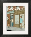 The New Yorker Cover - June 9, 2008 Wall Art by Adrian Tomine
